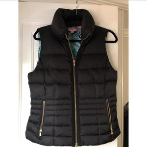 Lilly Pulitzer Puffer Vest- Size L